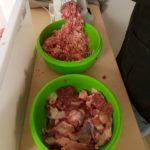 Schulterfleisch faschiert